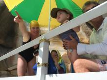 A future swimmer