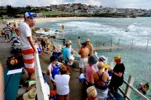 Another Saturday at Bronte Pool