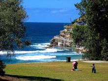 Bronte ocean pool and park