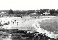 Coogee Aquarium at which many of the early Eastern Suburbs Ladies Swimming Club events were held