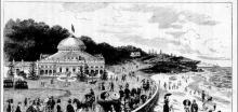 1888 - Exterior of the Coogee Aquarium which still stands today