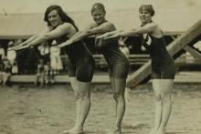 Place getters in 1912 Stockholm Olympics  women's 100M freestyle